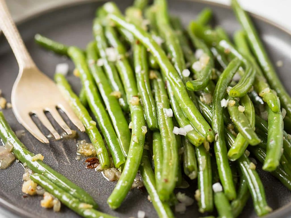 Sauteed Green Beans Recipe With Garlic